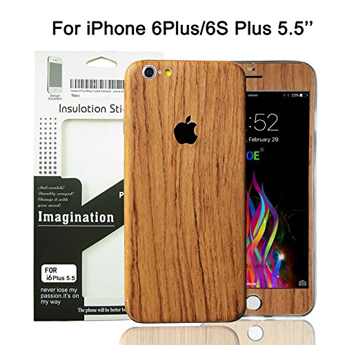 wood back iphone 6 - 4