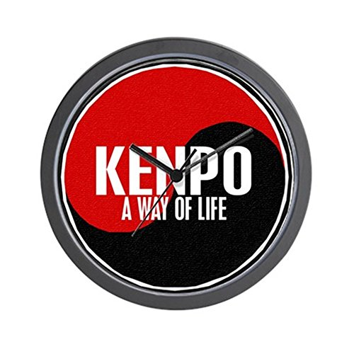 CafePress - KENPO A Way Of Life Yin Yang Wall Clock - Unique Decorative 10