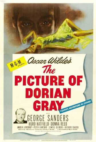 Amazon.com: The Picture of Dorian Gray Movie Poster (27 x 40 Inches - 69cm  x 102cm) (1945) Style D -(George Sanders)(Hurd Hatfield)(Donna Reed)(Angela  Lansbury)(Peter Lawford): Prints: Posters & Prints