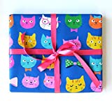 Sea Urchin Studio Cats Gift Wrap