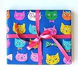 Sea Urchin Studio Cats Gift Wrap