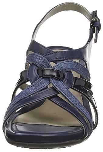 ECCO Ecco Touch 45 Ws - Sandalias Mujer Azul - Blau (MARINE/DENIM BLUE/MARINE54055)