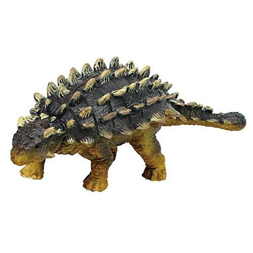 1 PCS Ankylosaurus Plastic Dinosaur Toys Model Action Figures Boys Gift for Children Size 14 cm by Phingshop