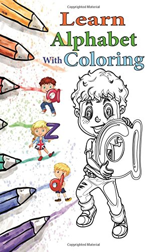 learn alphabet with coloring