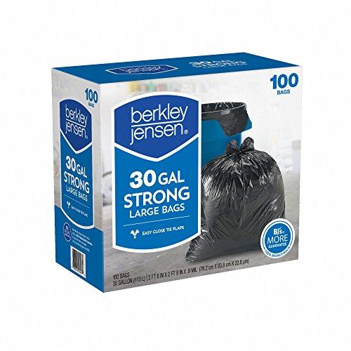 Product of Berkley Jensen 30-Gal.95mil Large Bags, 100 ct. - Food Storage Bags & Containers [Bulk Savings]