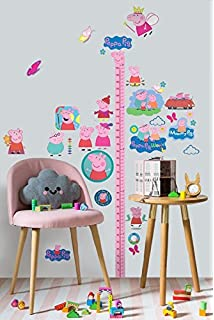 PEPPA PIG WALL STICKER   3D BEDROOM BOYS GIRLS LARGE CHILDREN S2Peppa Part 68