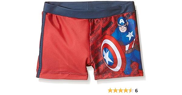 Avengers Bañador Boxer Capitan America Niños
