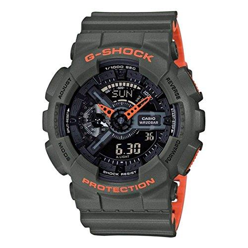 G-Shock Men's GA-110LN Green Watch