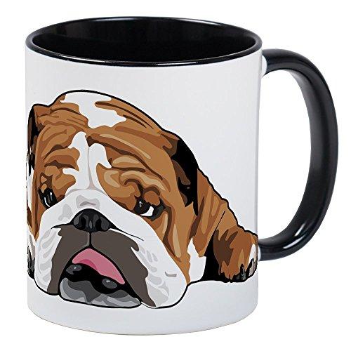 CafePress Teddy The English Bulldog Mug Unique Coffee Mug, Coffee Cup (English Gift)
