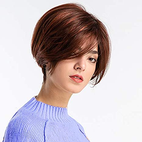 Pixie Cut Hair Wigs For Women Foviza Middle Part Short Synthetic Hair For Cosplay Party Amazon Ca Beauty