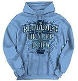My Redeemer Lives Christian T Shirt | Jesus Christ God Savior Hoodie Sweatshirt