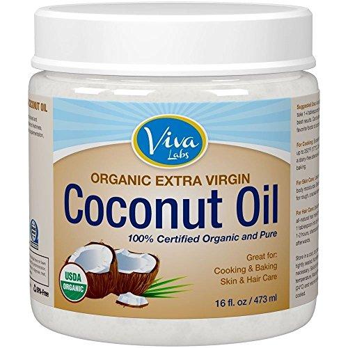 Organic Virgin Coconut Unrefined Cold Pressed product image