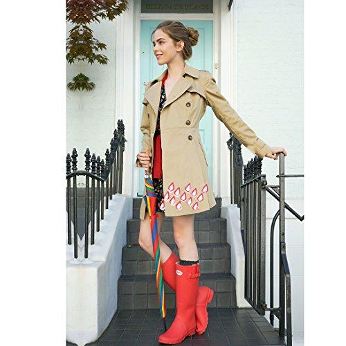 L'inverno Neve Scarpe Stivali Gomma Estate Rosso Di Impermeabili Da Per Stivali Gomma Primavera Adulti Di Pioggia Pioggia Per xvA67qwn