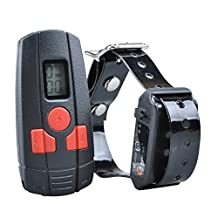 Aetertek® At-211sw-1 LCD Display Rechargeable Remote Small Dog Training Shock Collar with Vibrate,beep Tone ,9 Level Shock Mode for Small Dog Even Cat
