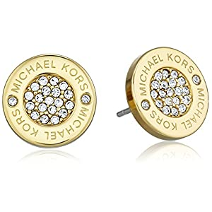 Best Epic Trends 51O0atOTe6L._SS300_ Michael Kors Stainless Steel Stud Earrings