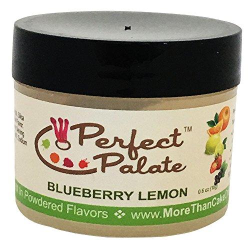 More Than Cake Perfect Palate Blueberry Lemon Powdered Flavor (Lemon Glaze Lemon Cake)