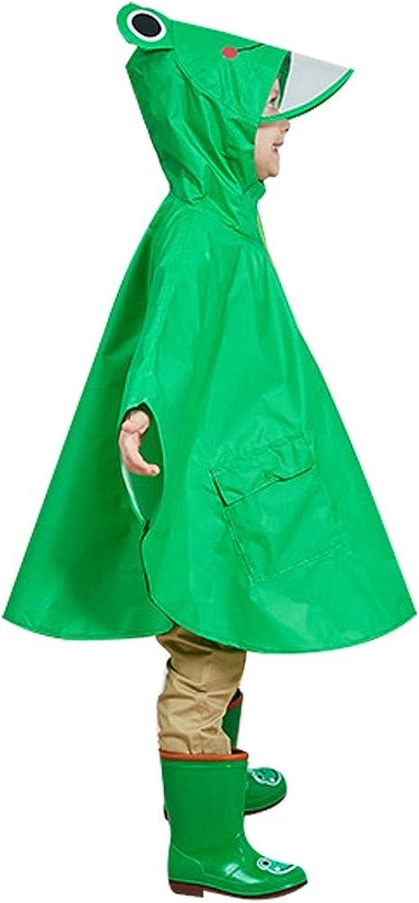 G-Kids Kinder Regenmantel Regenponcho mit Kapuze Wasserdicht Regenjacke Regencape f/ür Jungen M/ädchen