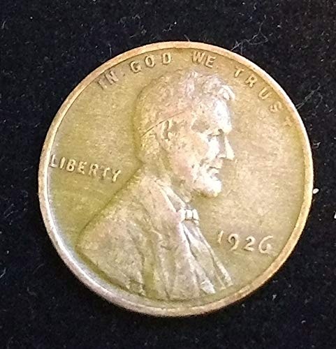 1926 U.S. Lincoln Wheat Cent VG to FINE+ American Mint U.S.A.