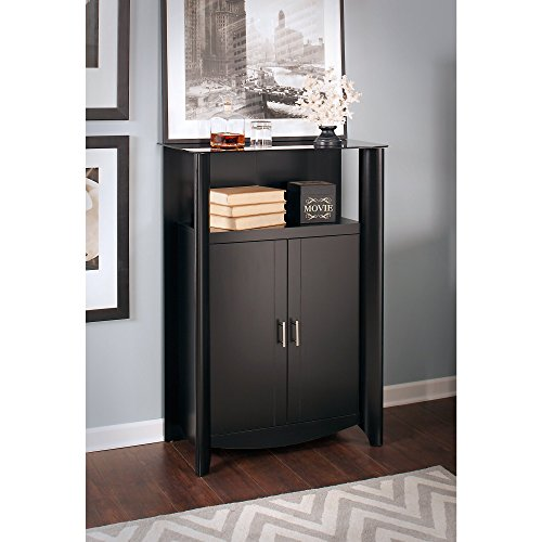 aero library storage cabinet with doors