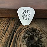 Best Dad Ever Guitar Pick For Dad Gift Guitar Pick Birthday Gift Christmas