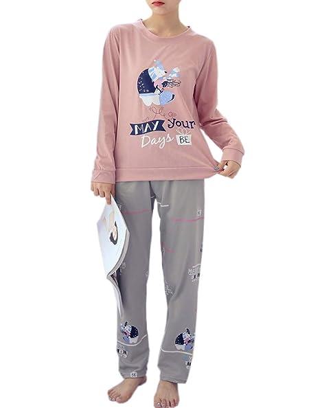 Amazon.com: Vopmocld - Set de pijama de invierno para niñas ...