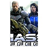 CHENGBANG Mass Effect Beach Towel For Adults