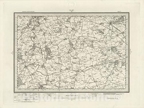 (Historic Map | 71 Selby 1898 | Vintage Wall Art | 30in x 24in)