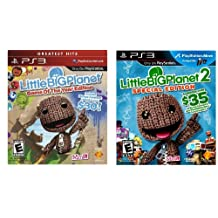 LittleBigPlanet: Game of the Year Edition & LittleBigPlanet 2: Special Edition Combo [Playstation 3 PS3] NEW