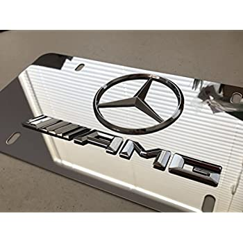 Amazon Com Ryomamoto Mercedes Benz Amg On Chrome Mirror
