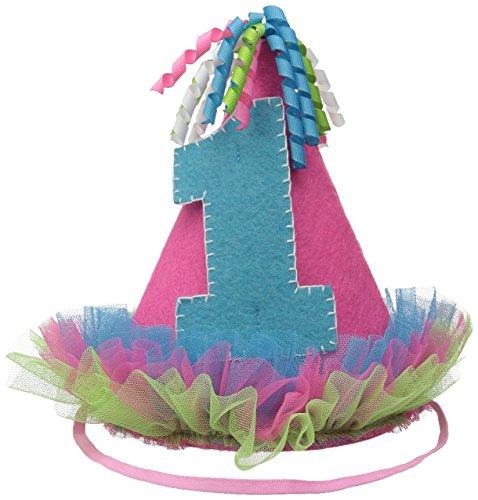 Mud Pie Baby 1St Felt Birthday Girls' Party Hat, Pink, One Size (Mud Pie Baby Girl 1st Birthday compare prices)