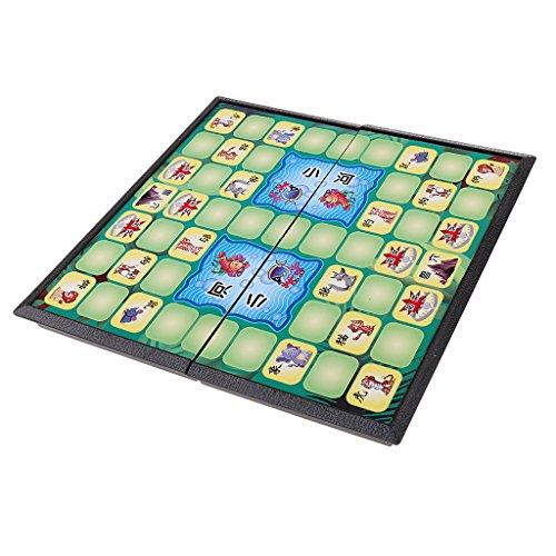Fenteer 折りたたみ 動物 チェスゲーム 子供 ボードゲーム おもちゃ ギフト