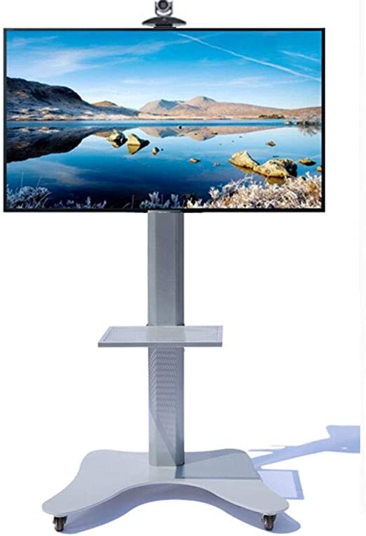 XUE Soporte para televisor en el Piso, Soporte Universal, Giro de 360º, televisores con Pantalla LCD LED, para 37-70 Pulgadas, Sala de Estar, Sala de conferencias, Sala: Amazon.es: Hogar