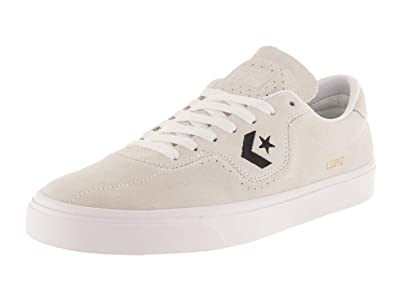 79d538eddb92 Converse Unisex Louie Lopez Pro Ox White White Black Skate Shoe 7.5 Men US