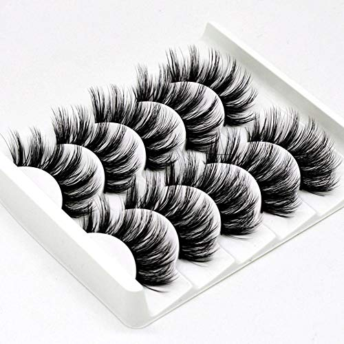 Mink False Lashes 5 Pairs