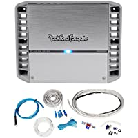 Rockford Fosgate PM300X2 300 Watt RMS 2 Channel Marine/Boat Amplifier+Amp Kit