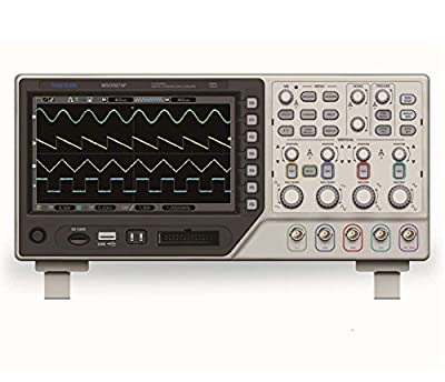 Hantek 4CH 70MHz MSO5074F Mixed Singal Oscilloscope with 8 Channels 500MHz Logic Analyzer Real time sample rate 1GSa/s 1M Record Length USB Spectrum Analyzer USB Interface Storage Function