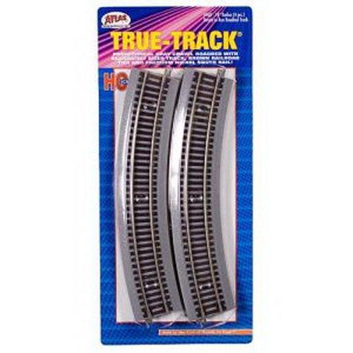 Atlas HO Scale True-Track w/ Roadbed 18