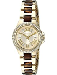 Michael Kors Womens Camille Brown Watch MK4291