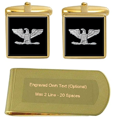 Select Engraved Cufflinks Gifts Colonel Clip Marines Money S U grFgqv