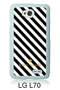 customized LG L70 Case Cover, Fashion Stylish DIY Kate Spade 48 White Case Cover For LG L70