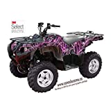 3M CAMO ATV Vinyl WRAP, Muddy Pink Girl Grass