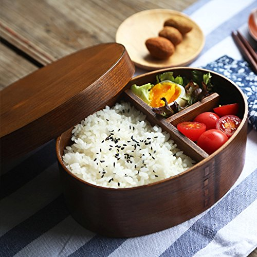 Bento Functional Wooden Lunch Box