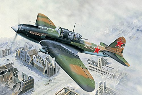 Hobby Boss IL-2M Ground Attack Aircraft Airplane Model Building Kit