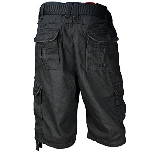 Jordan Craig Big & Tall Dark Charcoal Cargo Shorts (44)