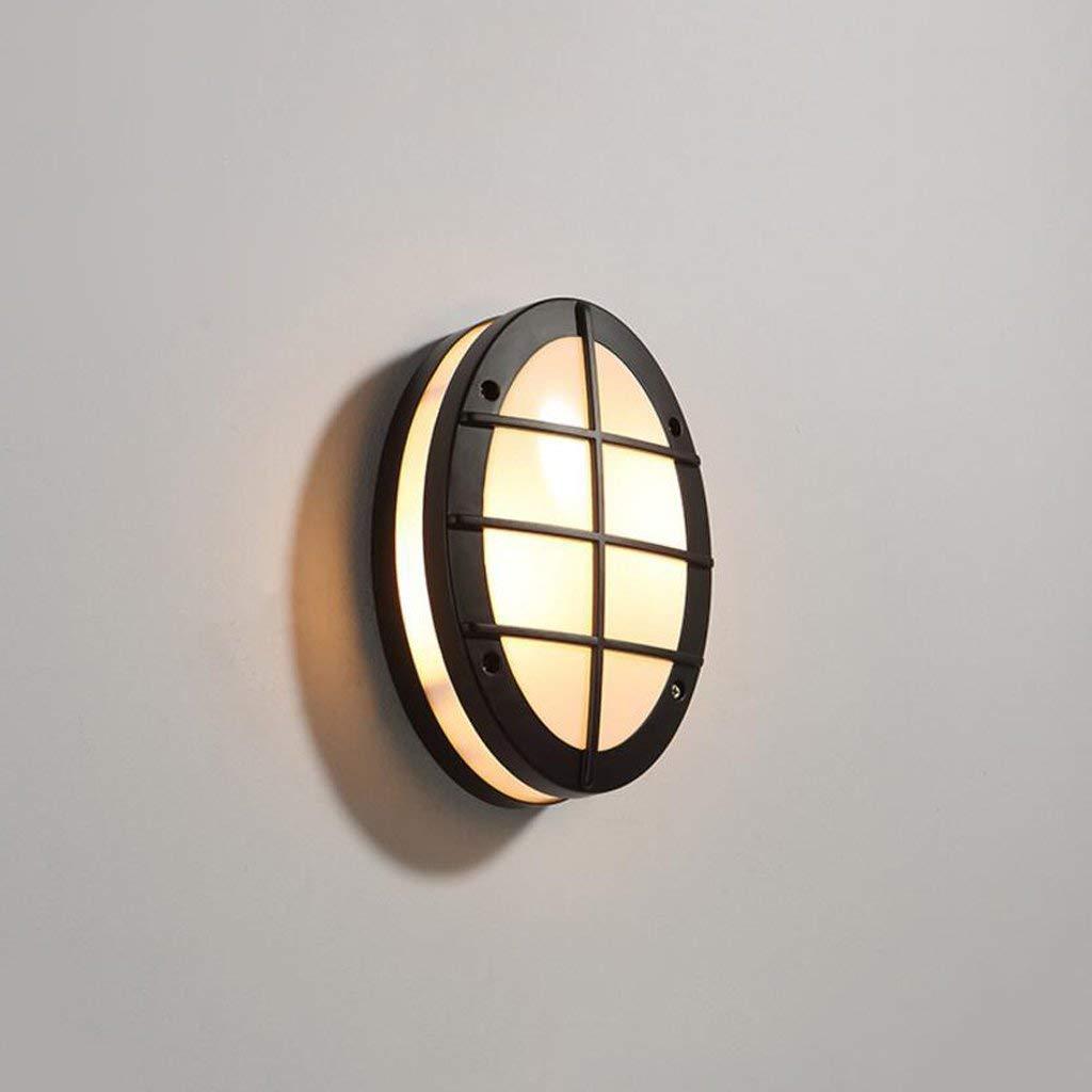 vendita online Willlly Lampada da parete per esterni in lega di alluminio alluminio alluminio nera corridoio da giardino impermeabile minimalista e minimalista (Colore   Colour-Dimensione)  acquistare ora