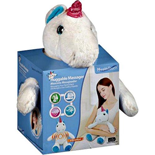 Health Touch Huggable Plush Unicorn Massager Massage