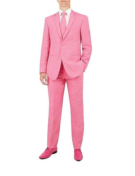 QZI Hombre Trajes de Colores Lisos para Disfraces Incluyen ...