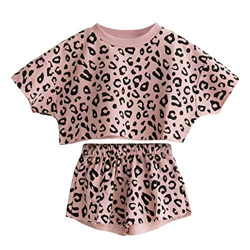 Cute Children Outfits - Toddler Baby Girls Leopard Print Summer