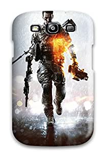 New Style Premium Tpu Battlefield 4 New Cover Skin For Galaxy S3