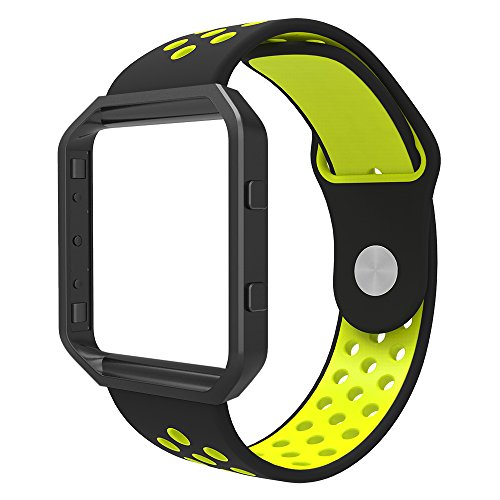 Fitbit Simpeak Silicone Sports Yellow